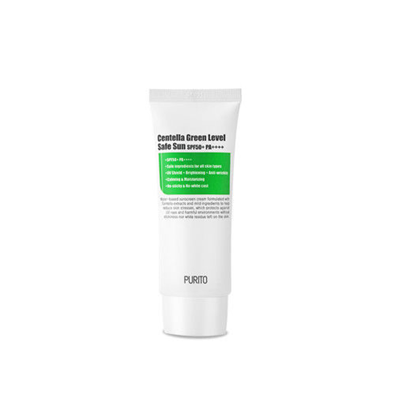 PURITO Centella Grün Ebene Sichere Sonne SPF50 + PA ++++ 60ml Sicher Sonne CC Creme Concealer Feuchtigkeits BB Creme korean Kosmetik