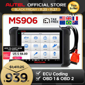 Image 1 - Autel Maxisys MS906รถยนต์สแกนเนอร์เครื่องมือสแกนรหัสReader (รุ่นอัพเกรดDS708และDS808) กับOEระดับ