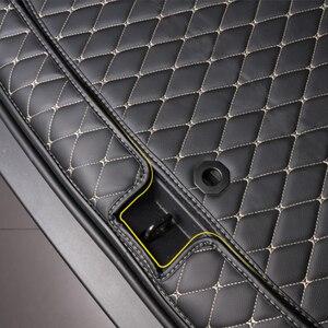 Image 3 - Dành Cho Xe Toyota RAV4 XA50 2019 Nay Khởi Động Xe Thảm Phía Sau Thân Cây Lót Hàng Hóa Thảm Lót Sàn Khay Bảo Vệ Phụ Kiện Thảm