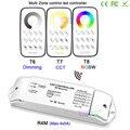 Bincolor DC12V-24V Управление несколькими зонами затемнения/CCT/RGBW Max 5x4A RF беспроводной пульт дистанционного управления + приемник контроллер для све...