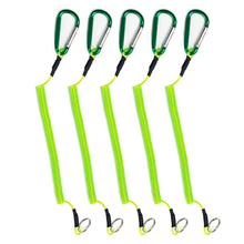 Fishing-Rope Lock Accessories Camping for with Carabiner Secure 1pc Anti-Lost