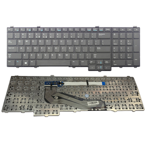 New laptop keyboard For Dell Latitude 15 5000 E5540 us NO Pointer NO backlit(China)