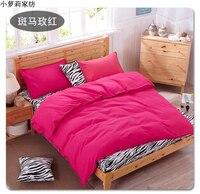 New Style Pink Cat Thickening Cartoon Kids Bedding Set 4pcs Cotton Houses Duvet Cover Bed Sheet Set Linen Quilt Pillowcase Set