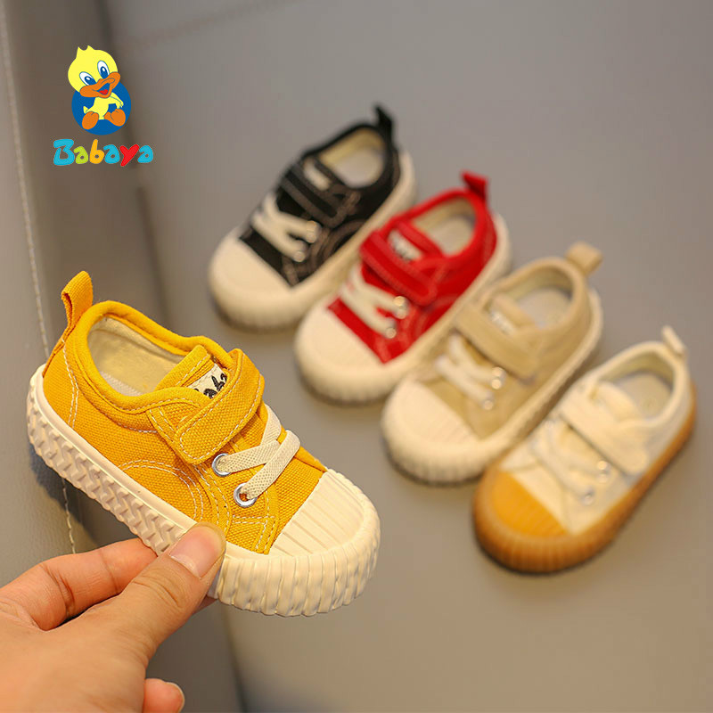 Canvas Shoes Baby-Girls Sneakers Soft-Bottom Autumn Breathable Boys New-Fashion Child