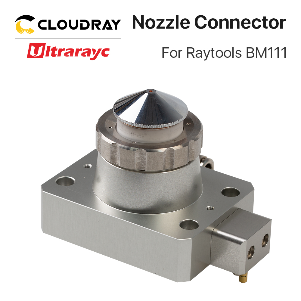Ultrarayc BM111 Cutting Head Nozzle Connector Fiber Metal Cutting Machine Part For Raytools BM111 Laser Head