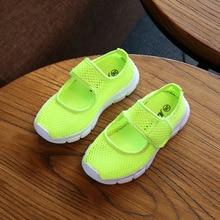 Candy Color Kids Shoes Summer Breathable Mesh Children