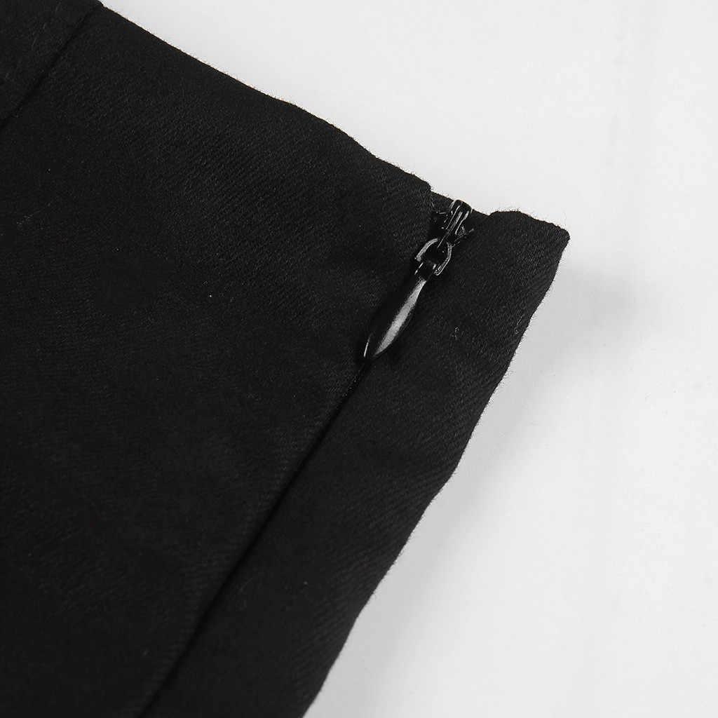 Frauen Sommer Harajuku Sexy Unregelmäßigen Hohe Taille Bandage Rock Weibliche Schwarz Gothic Mini Bodycon Kurzen Rock Nehmen Clubwear # BL5