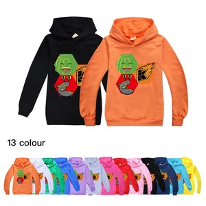 Jelly Green Unisex Lovly Kids Sweatshirts Hoodie Baby Girls Clothes Cartoon Long Sleeve Boys Hoodies Clothes For Children