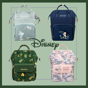 Disney USB Diaper Bag Backpack Baby Bags for Mom Mummy Maternity Bags For Travel Cute Waterproof Baby Nappy Bags 2020 Pre-design