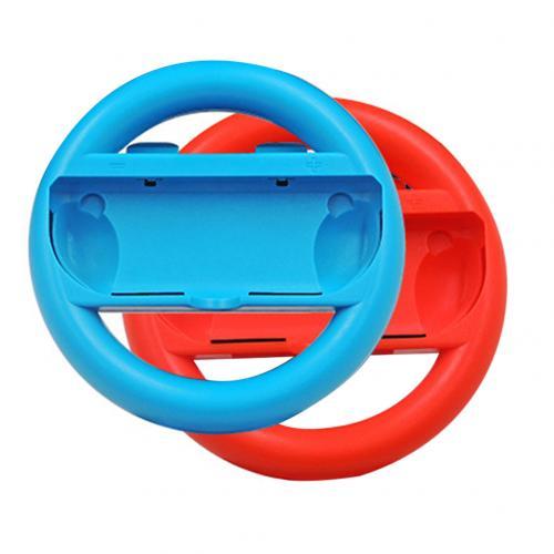 Переключатель Игровой руль ручка для переключателя Joy-Cons Противоскользящий контроллер направления с высоким качеством реалистичный опыт - Цвет: Mix Color