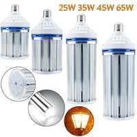 Bombilla LED de maíz de alta potencia, E27, 25W, 35W, 45W, 65W, 160, 220, 280, 400, SMD, 2835 W, 250W, 350W, lámparas equivalentes a 85-450 V
