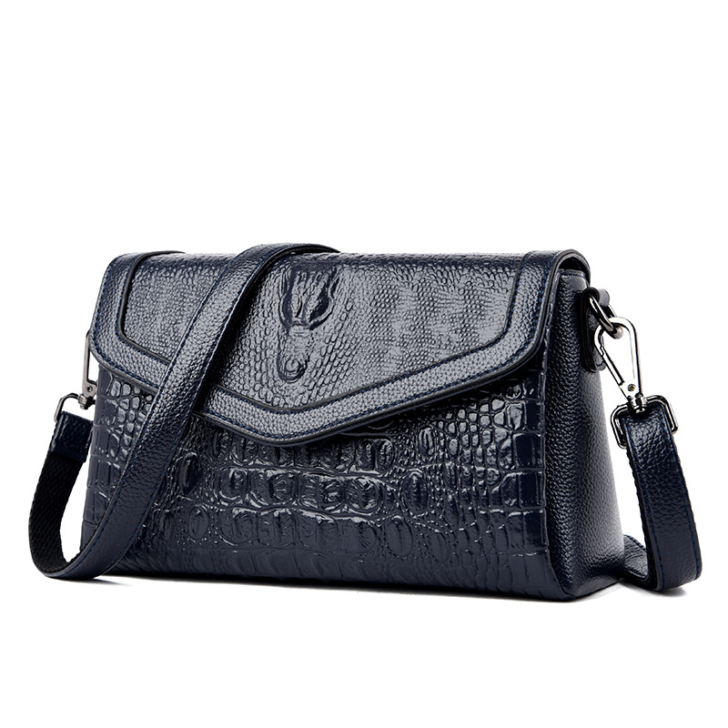 Popular Luxury Women's Genuine Leather Handbags Women Messenger Bag Fashion Alligator Shoulder Crossbody Bags For Women