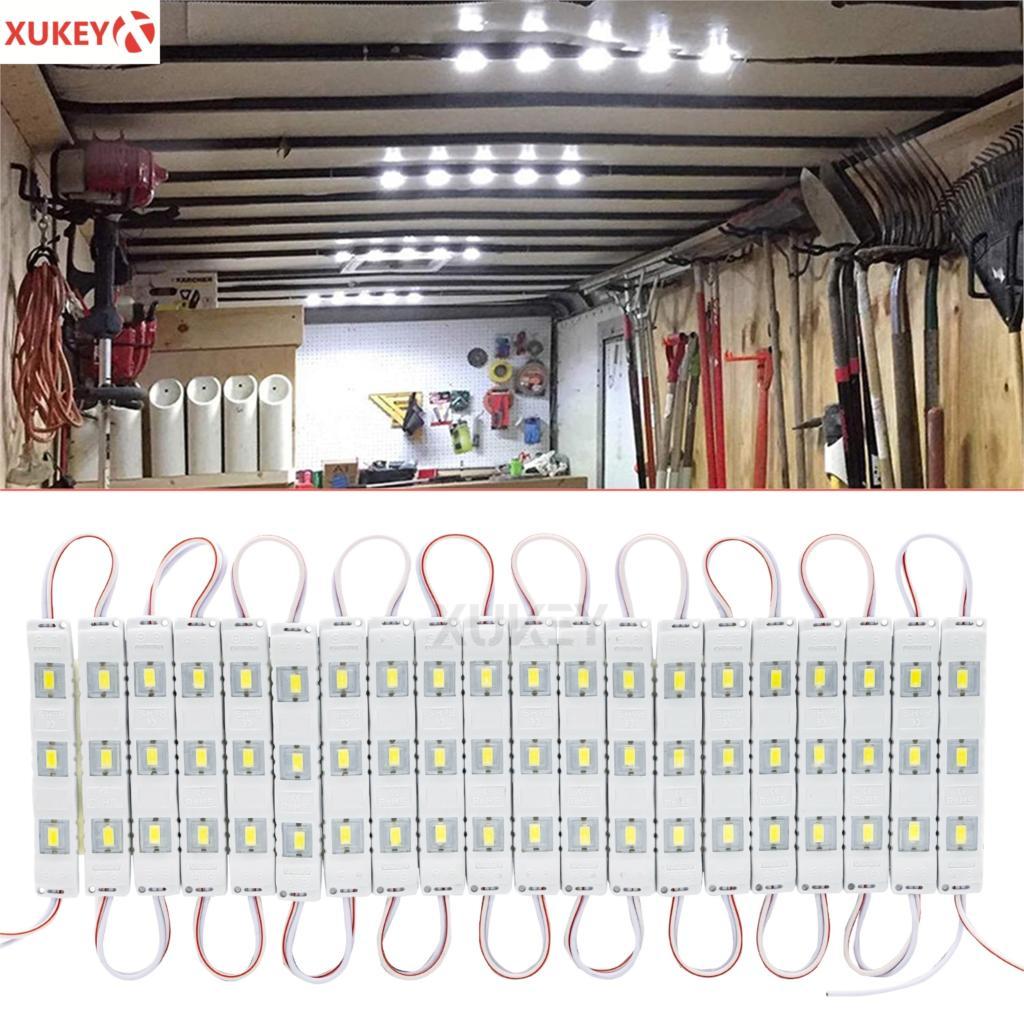 60 LEDs Van Innen Licht Auto LED Decke Lichter Kit Anhänger Lastwagen Beleuchtung Dome Lampe Für Transit Ducato Talento Caddy master