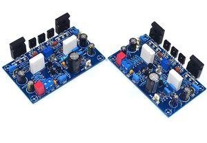 1 пара усилитель мощности плата 100Wx2 Amplificador IRF240 FET класс А усилитель мощности аудио Плата Amp для домашнего звукового театра