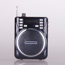 Aige Q32 New Mini Portable Megaphone Voice Amplifier Loudspeaker Outdoor Travel Wearable Speaker Wired Speaker Support TF USB