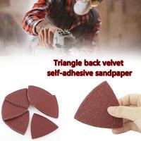 60 Pcs Sanding Sheets Paper Pads Set Saw Blade Triangle Sander Sandpaper Abrasive Tool Kit For Power Tools