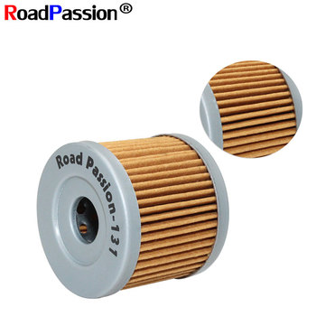Road Passion Professional Paper Oil Filter For SUZUKI GS125 GZ125 LT125 LT185 LTZ90 SP100 SP125 TU125XT UC125 UC150 UH125 UH200 image