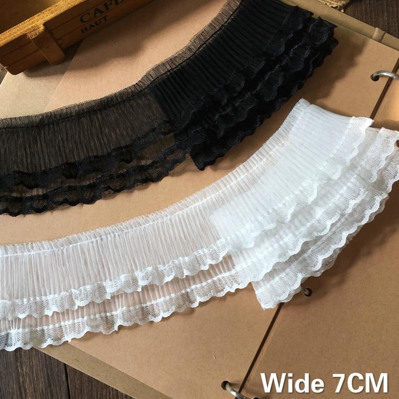 Женское шифоновое платье с оборками, эластичное двухслойное платье белого и черного цветов, 7 см