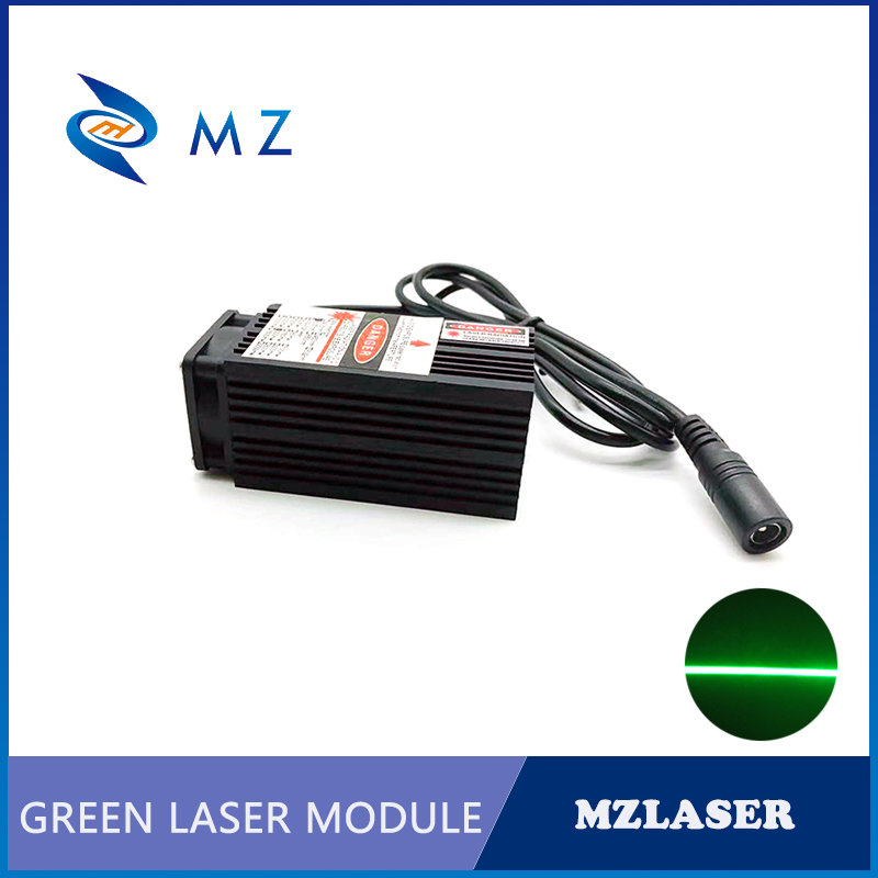 520nm 120mw With Thin Beam Green Line Laser Module For Room Escape/ Maze Props/ Bar Dance Lamp