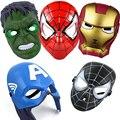 Маска супергероя для косплея на Хэллоуин для детей и взрослых, супергероя, маска супергероя