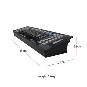 Image 4 - New Arrival 192 DMX Controller for moving head light 192 channels for DMX512 DJ equipment Dsico Controller