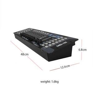 Image 4 - Nova chegada 192 controlador dmx para moving head light 192 canais para dmx512 dj equipamento controlador dsico