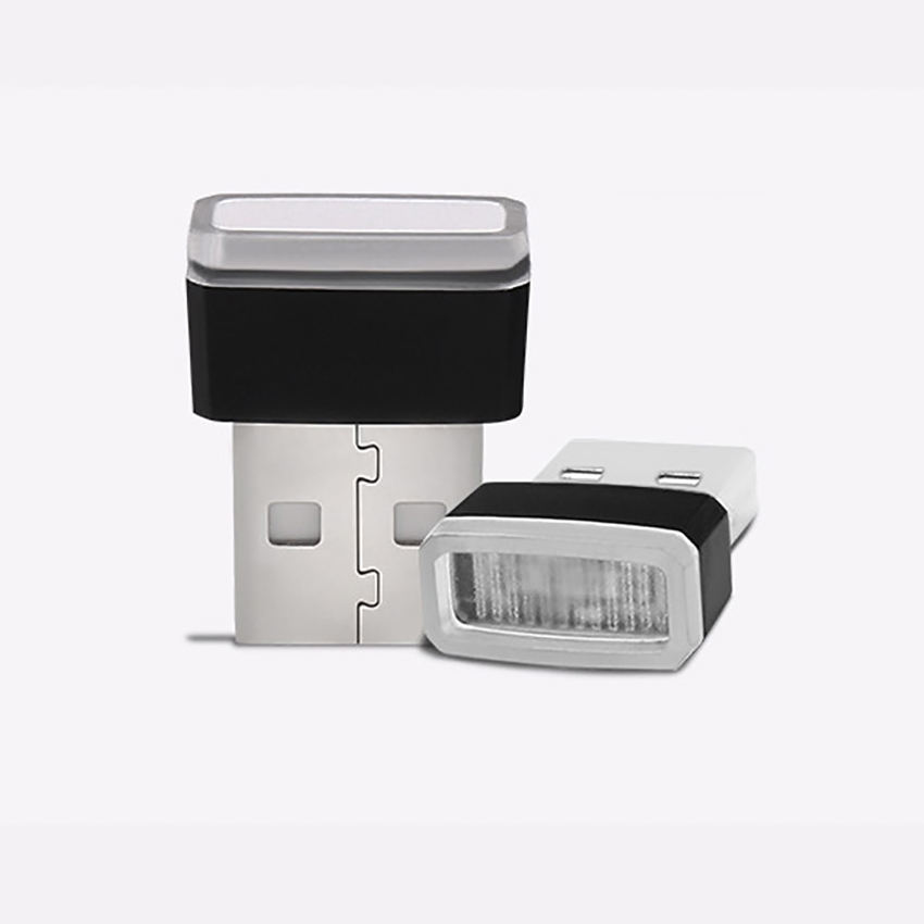 Mini USB LED Light Pocket Car LED Interior Lighting USB Atmosphere Light Decorative Night Lamp For Cars Vehicle Notebook