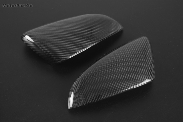 Real Crabon Fiber Mirror Cover 1 pair for  Kia K3 with turn signal 2014-2017 T252M 4