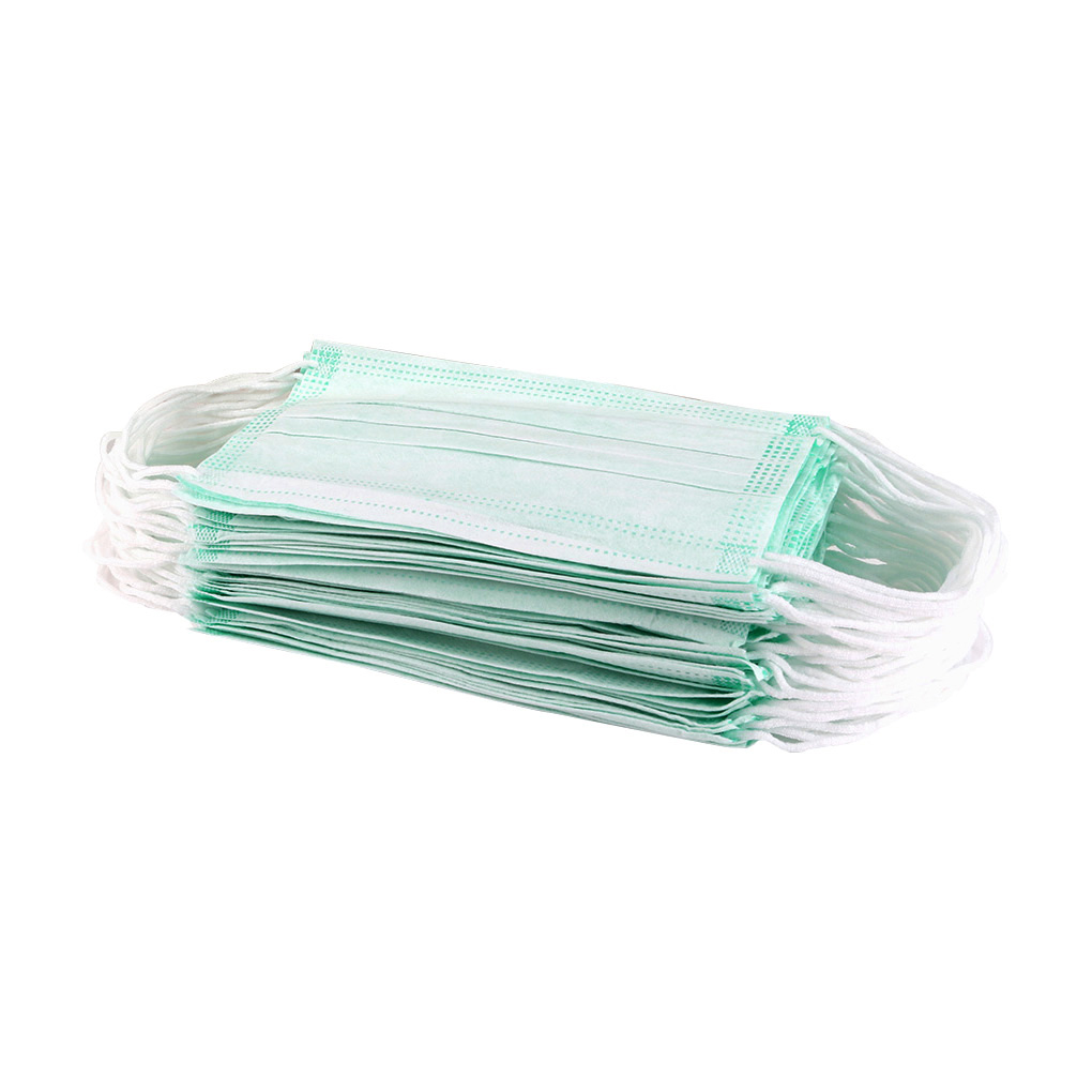 1/5/10 Pcs New Face Mouth Mask Non Woven Disposable Anti-Dust Earloops Masks Solid Color Face Masks