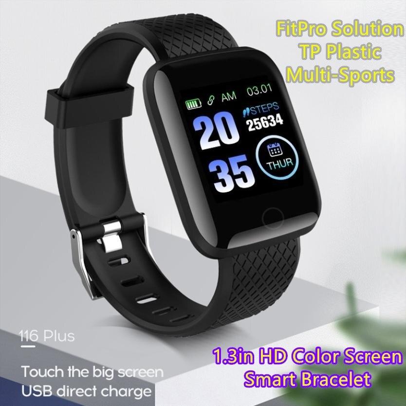 Смарт браслет FitPro Solution TP с цветным экраном 116 дюйма и USB портом для