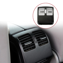New Car Interior Rear Dashboard Air Condition Air Vent Outlet Panel Trim Cover For Mercedes Benz C Class W204 C200 2007-2014 2 styles armrest box cover for w212 e class mercedes benz 2012 2019 rear air conditioning outlet inlet vent frame trim stickers