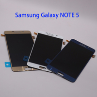 5.7'' QUALITY LCD For SAMSUNG Galaxy Note 5 Digitizer Display LCD Touch Screen Note 5 N920A N9200 SM N920 N920C Replacement Part