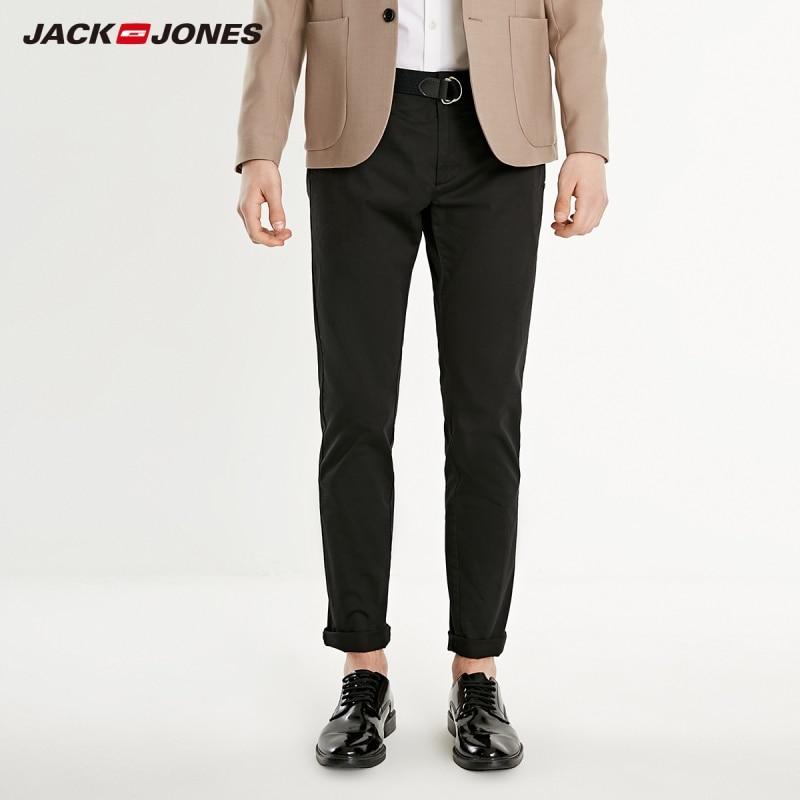 JackJones Men's Smart Casual Solid Colour Pants  219114573
