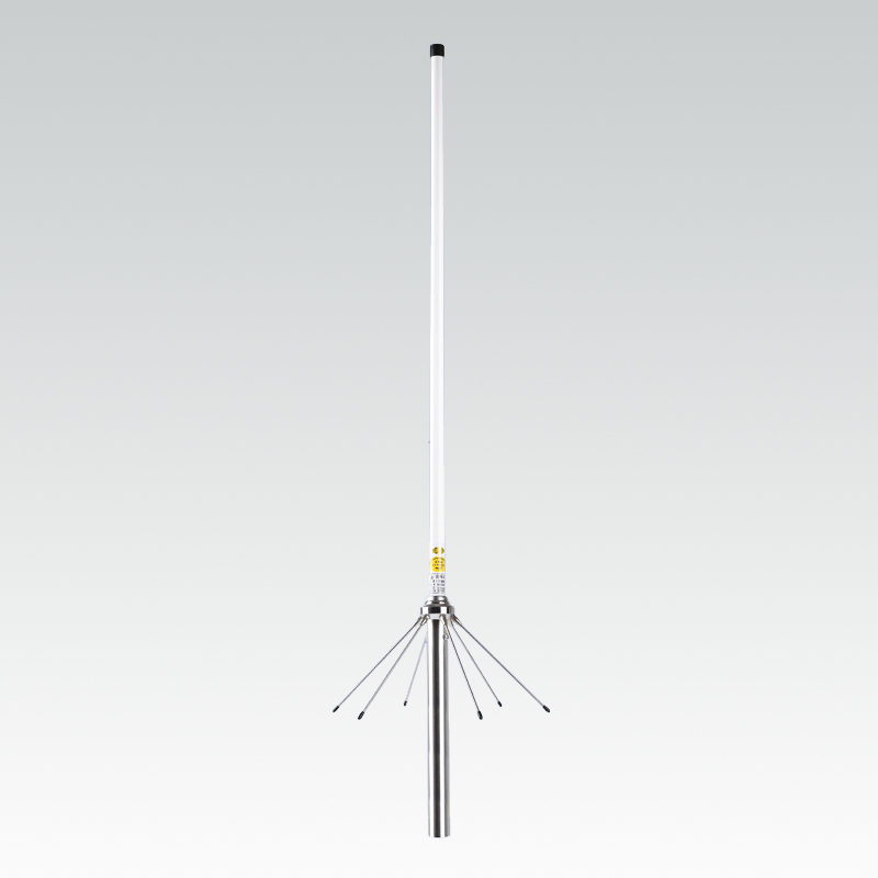 144/435Mhz Dual Band Vhf Uhf Omni Fiberglass Base Antenna SO239 SL16-K Outdoor Repeater Walkie Talkie UV Antenna