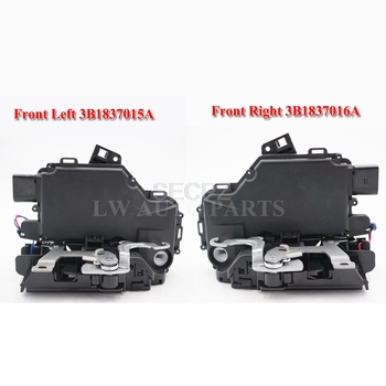 free shipping pair 2pc Door Lock Actuator & Latch Front 3B1837015A  3B1837016A For VW Rabbit Jetta Passat Golf Beetle GTI