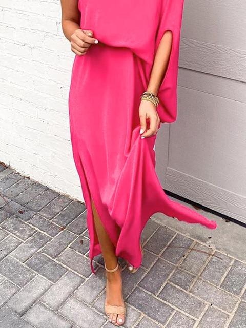 Купить женское летнее платье с оборками и открытыми плечами свободное картинки цена