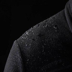 Image 5 - Nouvelle veste en polaire imperméable Youpin 90 points pour hommes, légère et chaude, sèche et non étouffante, anti mouillage