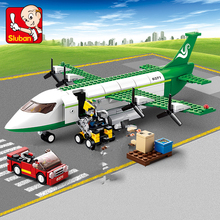 City Airplane Air Bus Aircraft Plane Building Blocks Sets Model Technic DIY Bricks Toys for Children b0366 b0365 abs 43 28cm airplane aircraft building blocks airbus city bus w 7 dolls model toys for children kids training gift