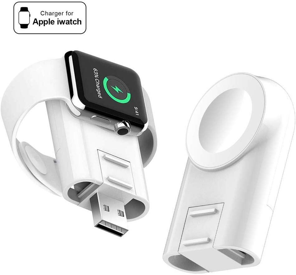 Charger For Apple Watch Portable Magnetic Adjustable Wireless IWatch Charger Compatible For Apple Watch Charger Series 5 4 3 2 1