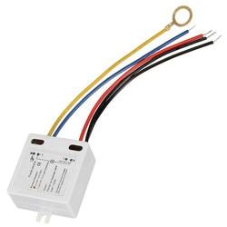 Сенсорный Выключатель 50-60 Гц для лампы, аксессуары для самостоятельной сборки, выключатель для лампы, черный/синий/красный/желтый свет, от 120...