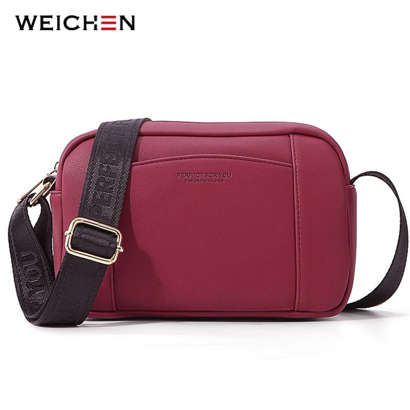 WEICHEN Marke Schulter Tasche Weiche Leder Damen Umhängetasche Messenger Bolsa Frauen Tasche Weibliche Sac Bolsos Klappe Hohe Qualität