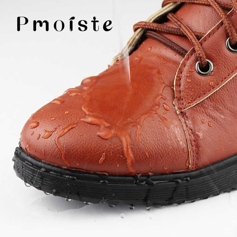 Caricamenti del sistema della caviglia degli uomini di nero di grande formato 11 stivali invernali uomini scarpe di pelliccia calda stivali da neve degli uomini di usura-resistente per adulti da tennis maschile