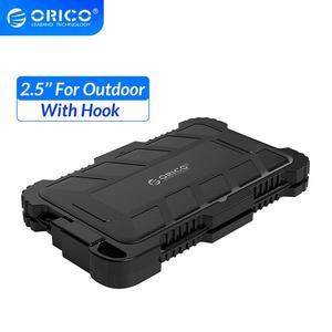 Orico 2.5 Inch USB3.0 Hdd Case Met Haak Waterdicht Schokbestendig Stofdicht Voor Outdoor Harde Schijf Doos Voor 2.5 Inch Hdd ssd(China)