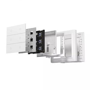 Image 3 - Originale Aqara OPPLE Smart Switch Wireless di Lavoro Con Apple HomeKit e Mihome App Due/Quattro/Sei Bottoni