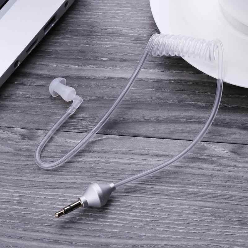 مكافحة الإشعاع سماعات الهواء أنبوب أحادية سماعة ستيريو أديرة 3.5 مللي متر سماعة الهواء أنبوب مكافحة الإشعاع سماعة سماعة ستيريو