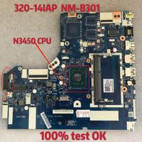 for Lenovo Ideapad 320 14IAP Laptop Motherboard NM B301 SR2Z6 N3450 CPU 100% test ok