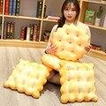 Simulação soda cookies almofada pelúcia travesseiro macio boneca almofada interessante bonito quarto decoração brinquedos