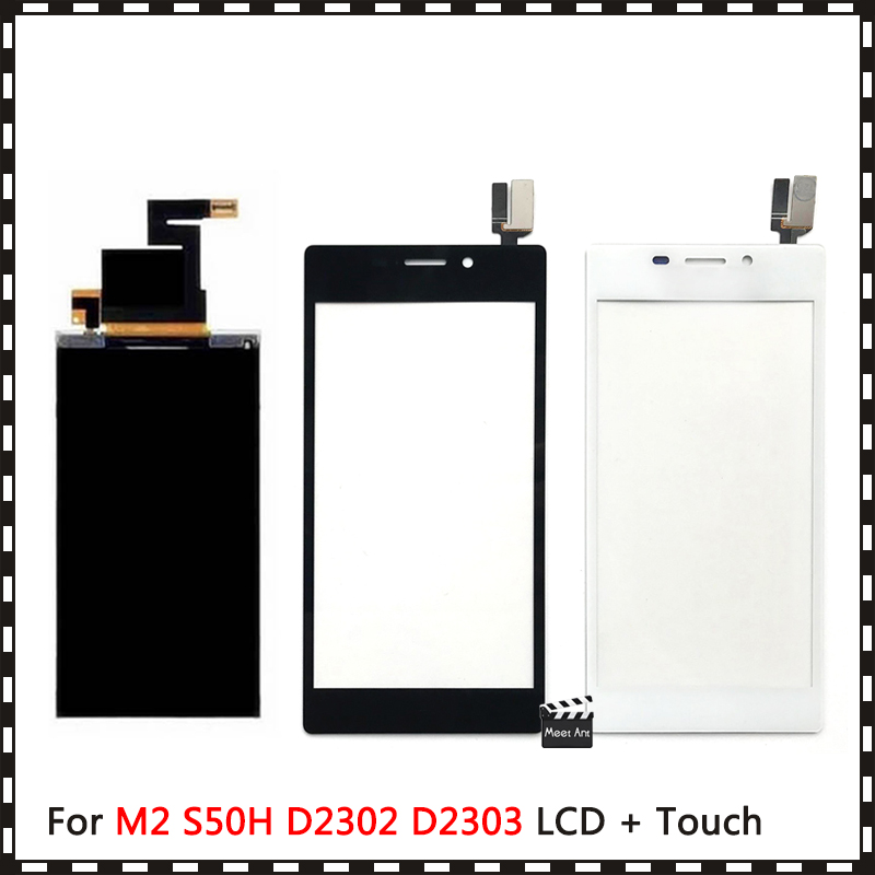 pantalla LCD pantalla de visualización d2302 Original Sony Xperia m2 Dual SIM