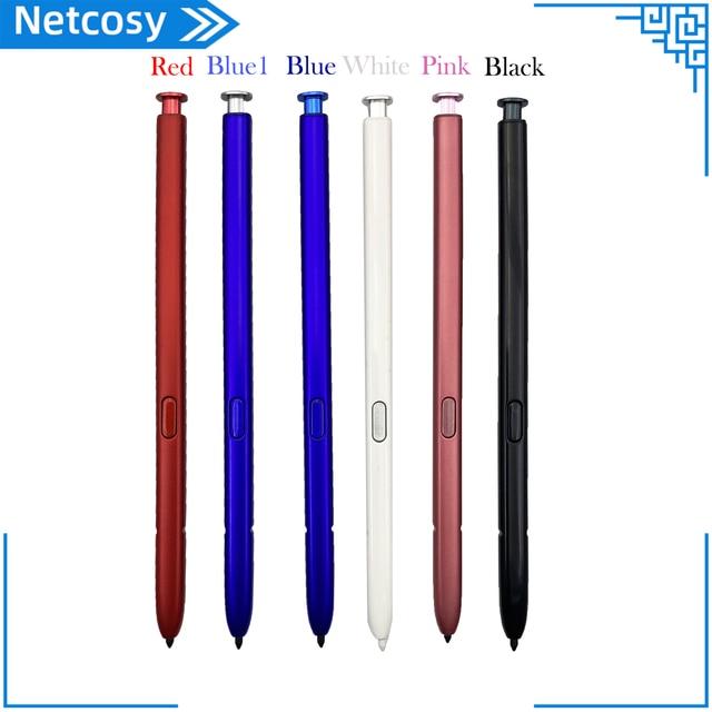 Caneta de pressão inteligente s stylus capacitivo para samsung galaxy note 10 n970 10 + n975 ativa caneta stylus telefone móvel s caneta