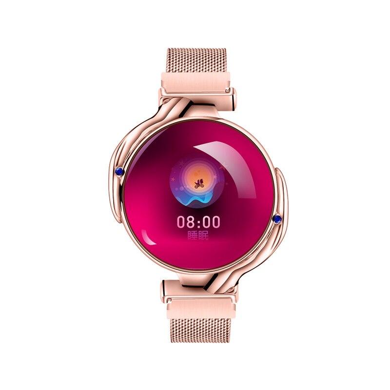 Горячая продажа Linbing123 Смарт-часы фитнес-трекер Z38 IP67 водонепроницаемые Смарт-часы женские менструальные циклы мониторинг сна Браслет